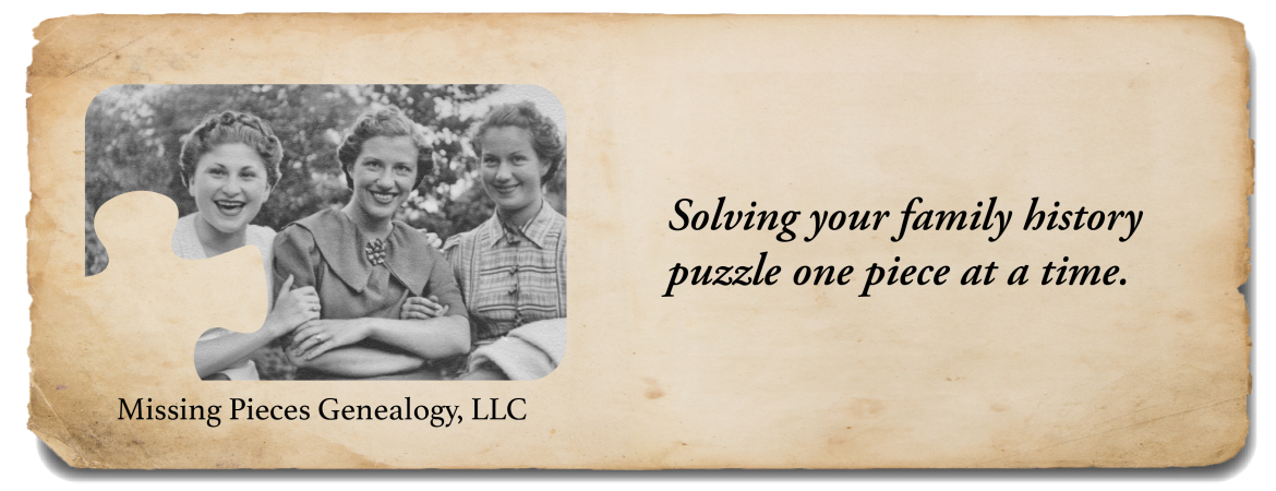 Missing Pieces Genealogy, LLC